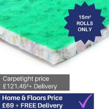 10mm Majesty Supreme - Carpet underlay 15m² ROLLS